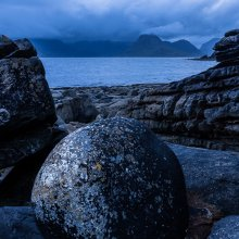 The Black Cuillins depuis Elgol